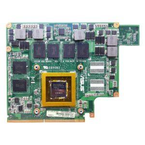 Видеокарта Asus G53JW Geforce GTX 560 DDR5 2 ГБ для ноутбука Asus G53S, G53SX, G53JW, G73SW, G73JW (G53JW VGA BOARD REV. 2.0, 60-N7CVG1000-A13, 69N0LKV10A13-01) на восстановление или запчасти
