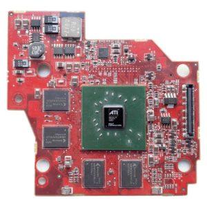 Видеокарта ATI Mobility Radeon X1400 DDR2 256 МБ для ноутбука Dell Inspiron 6400, E1505 (109-A74231-00, CN-0WF148, 0WF148) на восстановление или запчасти