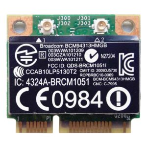 Модуль Wi-Fi Mini PCI-E BroadCom BCM94313HMGBL 802.11b/g (657325-001, 657308-001, BCM94313HMGB)