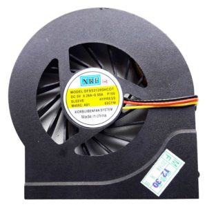 Вентилятор, кулер для ноутбука HP Pavilion dv6-3000, dv6-3100, dv6-4000, dv7-4000, dv7-4100, 3-pin (DFS531205HCOT P100)