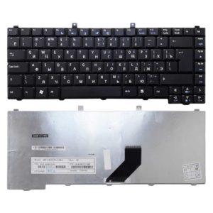 Клавиатура для ноутбука Acer Aspire 3100, 3102, 3650, 3690, 5100, 5101, 5102, 5103, 5110, 5112, 5515, 5610, 5610z, 5612, 5613, 5630, 5633, 5650, 5652, 5680, 5683, 9110, 9120, Extensa 5200, 5510, 1670 Black Черная (MP-046556PA-6984, PK1306B02V0)