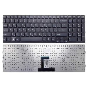 Клавиатура для ноутбука Sony Vaio VPC-EB, VPCEB Black Черная, без рамки (148792871, MP-09L23SU-886, 550102M14-515-G)