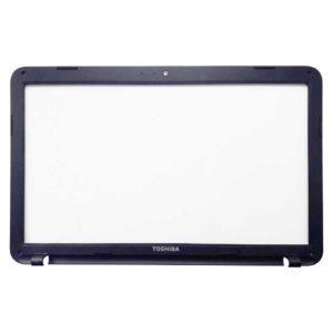 Рамка матрицы ноутбука Toshiba Satellite C850, C850D Black Черная (13N0-ZWA0S02, H000050150)