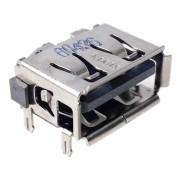 Разъем USB 2.0 для ноутбука Lenovo Y450, Y450A, Y450G, Y550, Y650, Z470, Z475, Z475A, Toshiba C600, C600D, C640, HP Compaq 510, 511, 515, 516, 615, CQ511, CQ516, 2230S, 6535S, 6735S одинарный (SUYIN 60436)