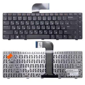 Клавиатура для ноутбука Dell Inspiron 14R, M4040, M4110, M5040, M5050, M5040, N4110, N4050, N5040, N5050, XPS 15, L502X, Vostro 1540, 3350, 3450, 3550, 3555, 5520, V131 Black Черная (9Z.N5XSW.20R, NSK-DX2SW, CN-0T0F02, 0T0F02)