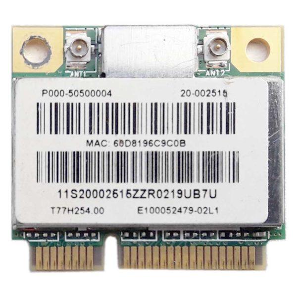 Модуль Wi-Fi Mini PCI Express Anatel 802.11b/g/n для ноутбука Lenovo IdeaPad Z575, G570, G575, B570, B575, S206, S405, MSI U130, U135DX, Acer ZX6971, Z5700 (T77H254.00, P000-50500004, RT3090, 20-002515)