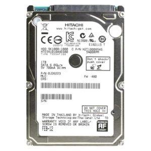 """Жесткий диск (HDD) 1 ТБ 2.5"""" HGST Travelstar 5K1000 SATA III 5400 rpm 8 мб 7 mm (HTS541010A9E680)"""