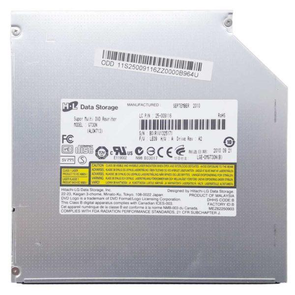 Привод DVD+RW Hitahi-LG GT30N 8x SATA 12.7 мм для ноутбука Lenovo B560, V560 без панели (25-009116, LGE-DMGT30N(B), AL0K713) Б/У
