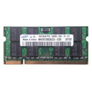 Модуль памяти SO-DDR-II 1 ГБ PC-5300 667 Mhz SAMSUNG (SEC)