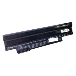 Аккумуляторная батарея для ноутбука Acer Aspire One 522, 722, D255, D257, D260, D270, Happy, eMachines eM355, Gateway LT23, LT2304C 11.1V 5200mAh/58Wh Black Черная (D255, LBACD255B)