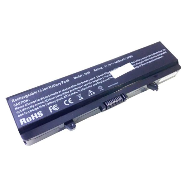 Аккумуляторная батарея для ноутбука Dell Inspiron 1440, 1525, 1526, 1545, 1546, 1750, Vostro 500 11.1V 4400mAh/49Wh (1526, DE Inspiron 1525/GW240)