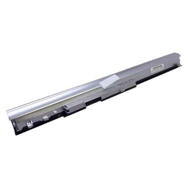 Аккумуляторная батарея для ноутбука HP Pavilion TouchSmart G14-a001TX, G14-a002TX, G14-a003TX, G14-a004TX, G14-a005TX, G14-a006TX, 14-d004ax, 14-d010TX, 14-d011TX, 14-d014TX, 14-d015TX, 14-d018TX, 14-d046TU, 14-d101TX, 14-n000, 14-n001ax, 14-n002ax, 14-n025tx, 14-n027tx, 14-n028tx, 14-n029tx, 14-n055sa, 14-n063TX, 14-n261tx, 14-n272TX, 14-n273TX, 14-n274tx, 14-n275tx, 14-n276TX, 14-n280TX, 14-n295tx, 14-R030TX, 14-R223TX, 14-R224TX, 14-R227TX, 14-R230TX, 15-d000, 15-d040ca, 15-d002sl, 15-d035dx, 15-d017cl, 15-d090nr, 15-d027ee, 15-d030nr, 15-d012tu, 15-d079wm, 15-d027ca, 15-d020nr, 15-d043se, 15-d004au, 15-d020dx, 15-g019wm, 15-g222ng, 15-M008TX, 15-n000, 15-n000ss, 15-n005sg, 15-n005TU, 15-n008SO, 15-n010sg, 15-n018ss, 15-n042SL, 15-n045TX, 15-n054TX, 15-n067ca, 15-n067SG, 15-n077OE, 15-n200sf, 15-n207SA, 15-n222SA, 15-n233sl, 15-n265ss, 15-n270SA, 15-n278SA, 15-p011x, 15-P151, 16-n206AX, ProBook 248 G1, 340 G1, 350 G1, 350 G2 14.8V 2200mAh/33Wh Black-Silver Черно-серебристая (LA04, H-P TouchSmart 14.15/LA04)