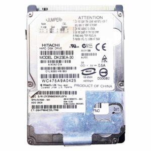 "Жесткий диск 30 ГБ IDE 2.5"" HITACHI DK23EA-30 4200 rpm 2 МБ для ноутбука (257660-001, 309273-001, 4K0345) Б/У"