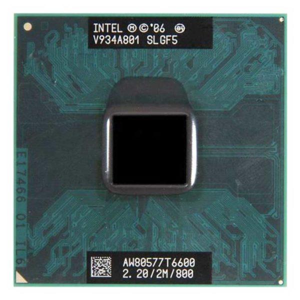 Процессор Intel T6600 @ 2.20GHz/2M/800 (SLGF5) Б/У
