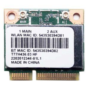 Модуль Wi-Fi 802.11b/g/n + Bluetooth 4.0 для ноутбука Acer Aspire E1-510, E1-572, E15, ES1-512, E3-111 (T77H436.03 HF)