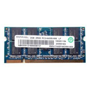 Модуль памяти SO-DDR-II 2048 Mb PC-6400 800 Mhz RAMAXEL ELPIDA (RMN1740EF48D8W-800)