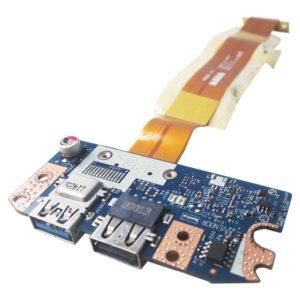 Плата 2xUSB со шлейфом для ноутбука Acer Aspire 5755G (P5WE0 LS-6904P, LS-6904P2010-11-18, LF-6901P)