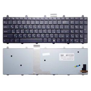 Клавиатура для ноутбука MSI GT60, GT70, GX60, GX70, GE60, GE70 с подсветкой, Black Черная (V132150AK1 RU, 6-80-P2700-280-3)