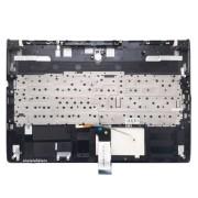 Верхняя часть корпуса с клавиатурой и подсветкой для ноутбука MSI GS60 без тачпада (6H21011G98E, 6H21011G98, V143422AK1 RU, S1N-3ERU2N1-SA000) Б/У