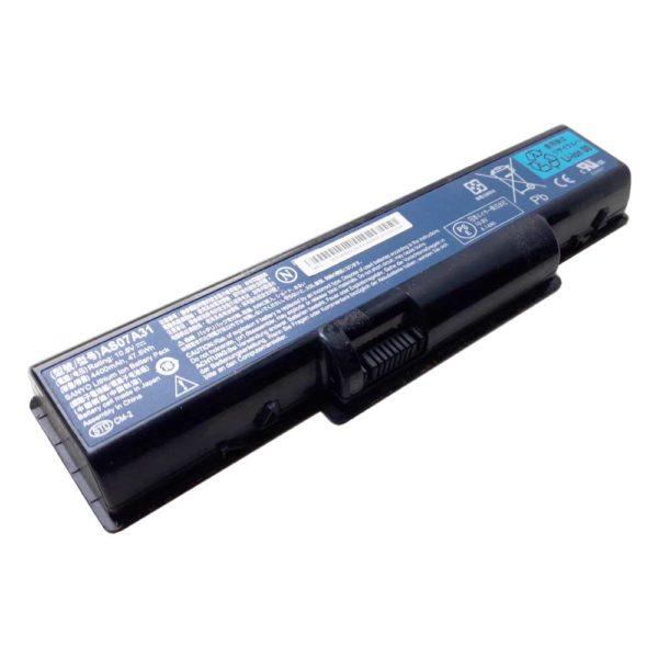 Аккумуляторная батарея для ноутбука Acer Aspire 2930, 4310, 4520, 4710, 4920, 5335, 5732, 5735, 5738, 5740, 4315, 4720, 5236, 4220, 5536, 4230, 5737, 5740, 7715, eMachines E525, E627, E725, D525, D725, D620, G620, G627, G725, Gateway NV52, NV53, NV54, NV56, NV58, NV59, NV78 DC 10.8V 4400mAh 47.5Wh Original Оригинал (AS07A31) Износ 80%