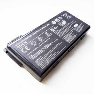 Аккумуляторная батарея для ноутбука MSI A5000, A6000, A6005, A6200, A7200, CR500, CR500X, CR600, CR605, CR610, CR620, CR630, CR700, CX500, CX500DX, CX600, CX605, CX610, CX620, CX623, CX700, CX720, GE700, MS-1681, MS-1683, MS-1731, MS-1734, MS-1736 11.1V 4400mAh 49Wh Original Оригинал, Black Черная (BTY-L74) Износ 10%