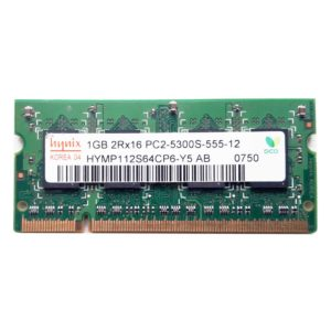 Модуль памяти SO-DIMM DDR2 1024 Mb PC-5300 667 Mhz Hynix
