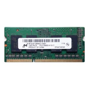 Модуль памяти SO-DIMM DDR3 1Gb PC-10600 1333 Mhz Micron (MT4JSF12864HZ-1G4D1)