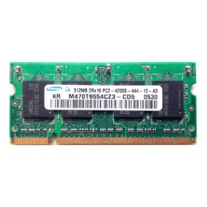 Модуль памяти SO-DDR2 512 МБ PC-4200 553 Mhz Samsung, SEC (M470T6554CZ3-CD5)