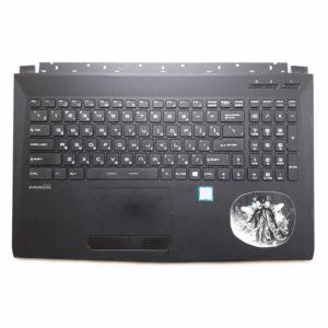 Верхняя часть корпуса с клавиатурой для ноутбука MSI GL62, GL62M без тачпада (3076J5C615Y87, INM16JTP02K5101, V143422DK1 RU, S1N3ERU, S1N3ERU2V1SA000) Б/У