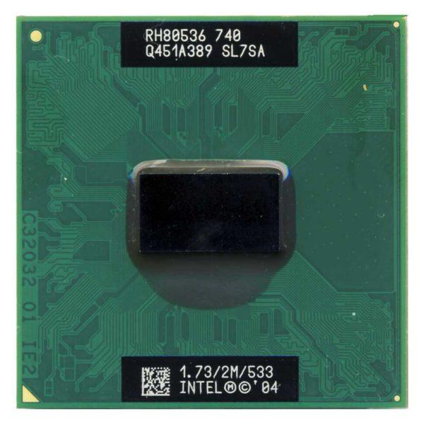 Процессор Intel Pentium M 740 @ 1.73GHz/2M/533 Socket mPGA478C (SL7SA)