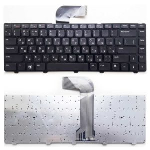 Клавиатура для ноутбука Dell Inspiron 14R, M4040, M4110, M5040, M5050, M5040, N4110, N4050, N5040, N5050, XPS 15, L502X, Vostro 1540, 3350, 3450, 3550, 3555, 5520, V131 Black Чёрная (K1838, LSD-310-1-US, JD-310-01-1)