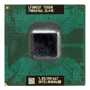 Процессор Intel Core2 Duo T5550 @ 1.83GHz/2M/667 (SLA4E) Б/У