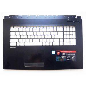 Верхняя часть корпуса для ноутбука MSI GP72M, GP72M 7REX Leopard Pro, GP72M 7RDX Leopard без тачпада (E2P-793C223-P89, 160408-006, 307793C223P89) Уценка!