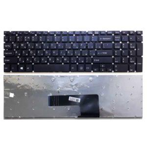 Клавиатура для ноутбука Sony Vaio SVF152, SVF15, FIT15, SVF1521E1RB.RU3, SVF1521J1RB.RU3, SVF1521L1RB.RU3, SVF1521M1RB.RU3, SVF1521Z1RB.RU3, SVF1521X1RB.RU3, SVF1521S8RB.RU3, SVF15A1S9RB.RU3, SVF15A1Z2RB.RU3 без рамки Black Черная (V141706AS1 RU, 149236691RULX, S13523000587, AEHK8U020105A)