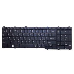 Клавиатура для ноутбука Toshiba Satellite C650, C650D, C655, C655D, C660, C660D, C665, C665D, C670, C670D, C675, C675D, L650, L650D, L655, L655D, L670, L670D, L675, L675D, L750, L750D, L755, L755D, L770, L770D, L775, L775D Black Черная (HK360-5US, JL-0377US)