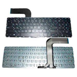 Клавиатура для ноутбука HP Pavilion 15-p, 15-v, 17-f, 15-p000, 15-v000, 17-f000, 15-pXXX, 15-vXXX, 17-fXXX без рамки, Black Черная (OEM)